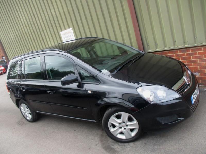 used Vauxhall Zafira Exclusiv Nav CDTi in wokingham-berkshire
