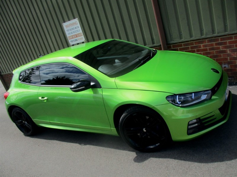 used VW Scirocco R LINE TDI BLUEMOTION TECHNOLOGY DSG in wokingham-berkshire