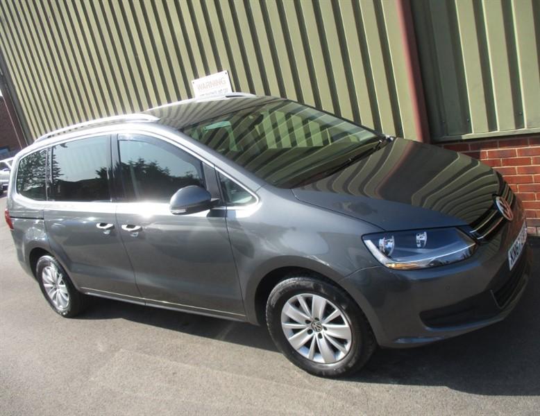 used VW Sharan SE NAV TDI BLUEMOTION TECH Automatic DSG in wokingham-berkshire