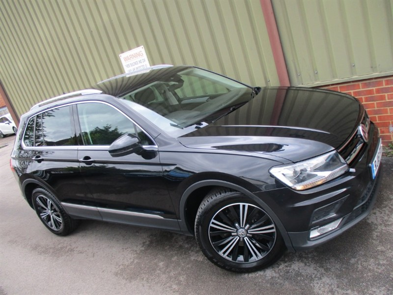 used VW Tiguan SE TDI BMT (New Shape) in wokingham-berkshire