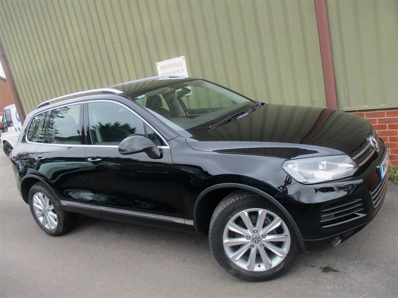 used VW Touareg V6 SE TDI BLUEMOTION TECHNOLOGY in wokingham-berkshire