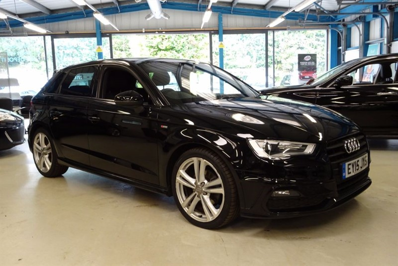 used Audi A3 TFSI S LINE [CYLINDER ON DEMAND] in basingstoke-hampshire