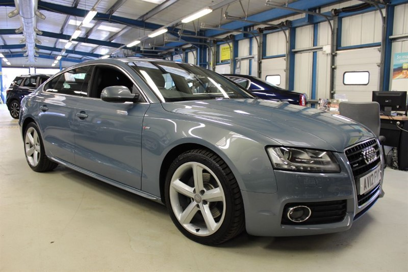 used Audi A5 SPORTBACK TDI QUATTRO S LINE [LEATHER / XENONS / CRUISE] in basingstoke-hampshire