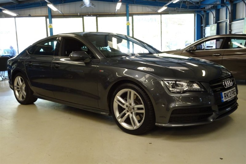 used Audi A7 TDI QUATTRO S LINE [TECH PACK / HUD /5 SEATS / 4WD] in basingstoke-hampshire