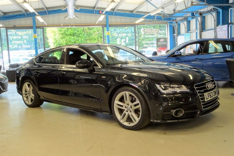 used Audi A7 TDI QUATTRO S LINE [OVER 10K IN OPTIONAL EXTRAS] in basingstoke-hampshire