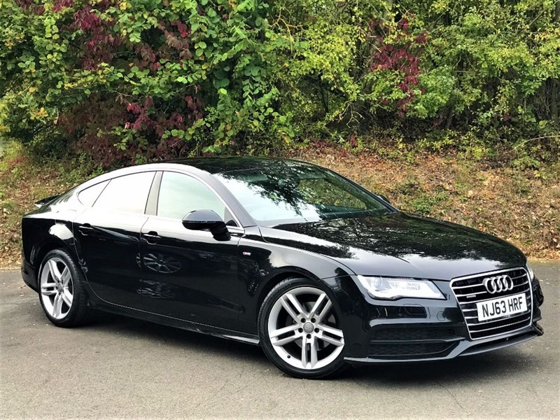 used Audi A7 TDI QUATTRO S LINE [HEADS UP / SAT NAV / LEATHER] in basingstoke-hampshire