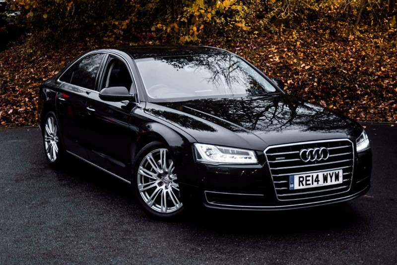 used Audi A8 TDI QUATTRO SPORT EXECUTIVE [£3,215 OF OPTIONS / HEAD UP DISPLAY] in basingstoke-hampshire