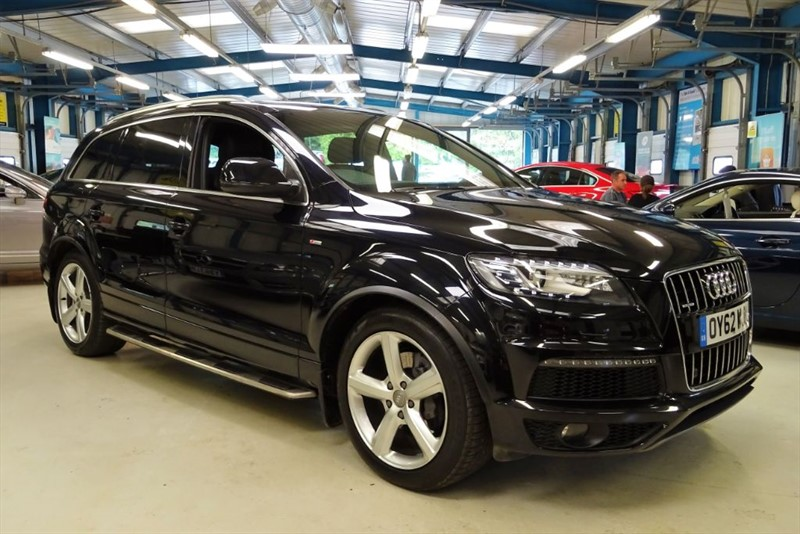 "used Audi Q7 TDI QUATTRO S LINE PLUS [NAV / DAB / 7 SEATS / 20""s] in basingstoke-hampshire"