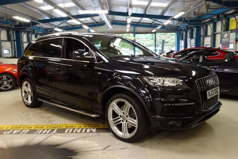"""used Audi Q7 TDI QUATTRO S LINE PLUS [SAT NAV / 21""""s / SIDE STEPS] in basingstoke-hampshire"""