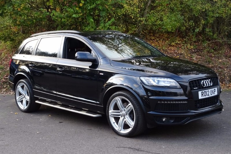 used Audi Q7 TDI QUATTRO S LINE PLUS [OVER £5000 WORTH OF FACTORY OPTIONS] in basingstoke-hampshire