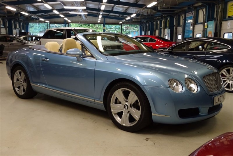 used Bentley Continental GTC in basingstoke-hampshire