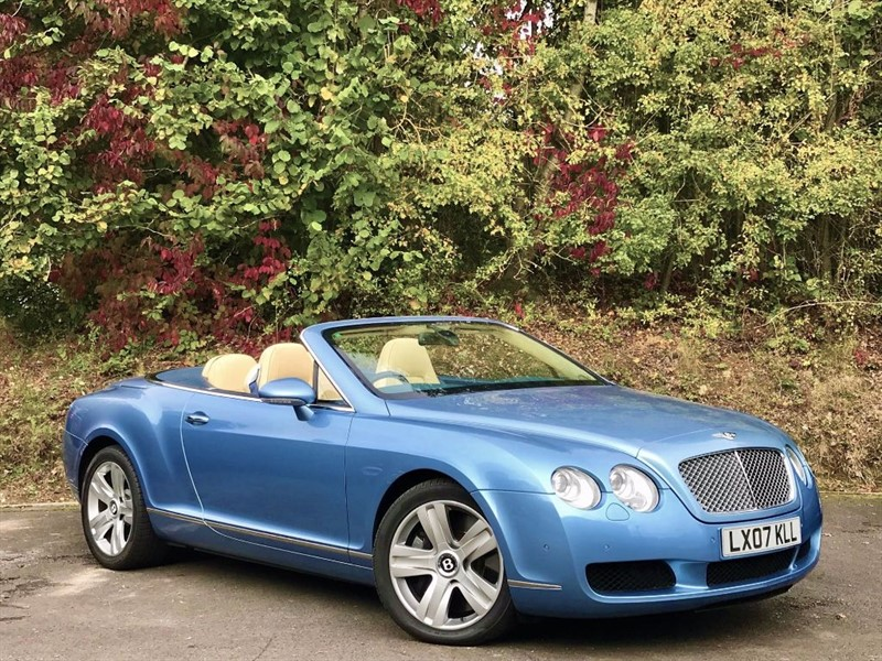 used Bentley Continental GTC [SAT NAV / CREAM LEATHER] in basingstoke-hampshire