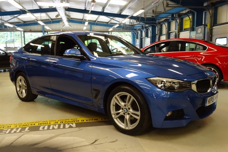 used BMW 330d M SPORT GRAN TURISMO [1 OWNER / NAV / DAB / LEATHER ] in basingstoke-hampshire