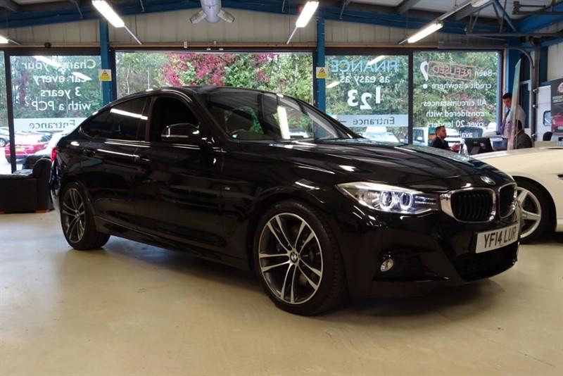 used BMW 330d M SPORT GRAN TURISMO [PRO NAV / LEATHER] in basingstoke-hampshire