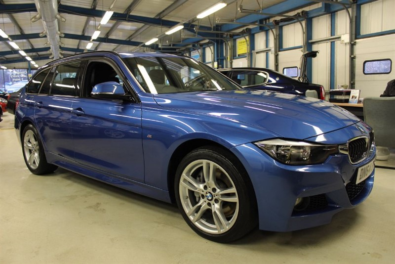 used BMW 335d XDRIVE M SPORT TOURING [SAT NAV / LEATHER / 1 OWNER] in basingstoke-hampshire
