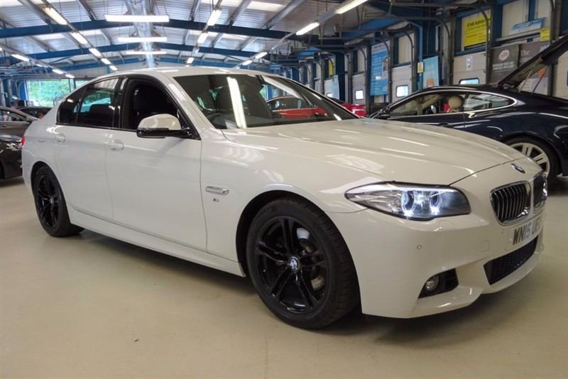 used BMW 520d M SPORT [NAV / LEATHER / 1 OWNER] in basingstoke-hampshire
