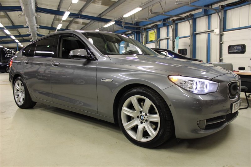 used BMW 535d SE GRAN TURISMO [SAT NAV / LEATHER / PAN ROOF] in basingstoke-hampshire
