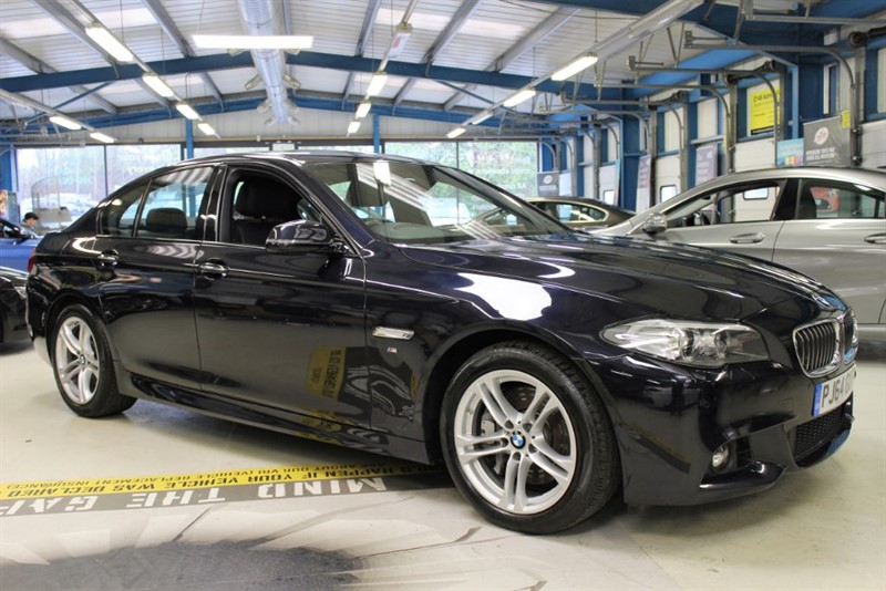 used BMW 535d M SPORT [NAV / LEATHER / XENONS] in basingstoke-hampshire