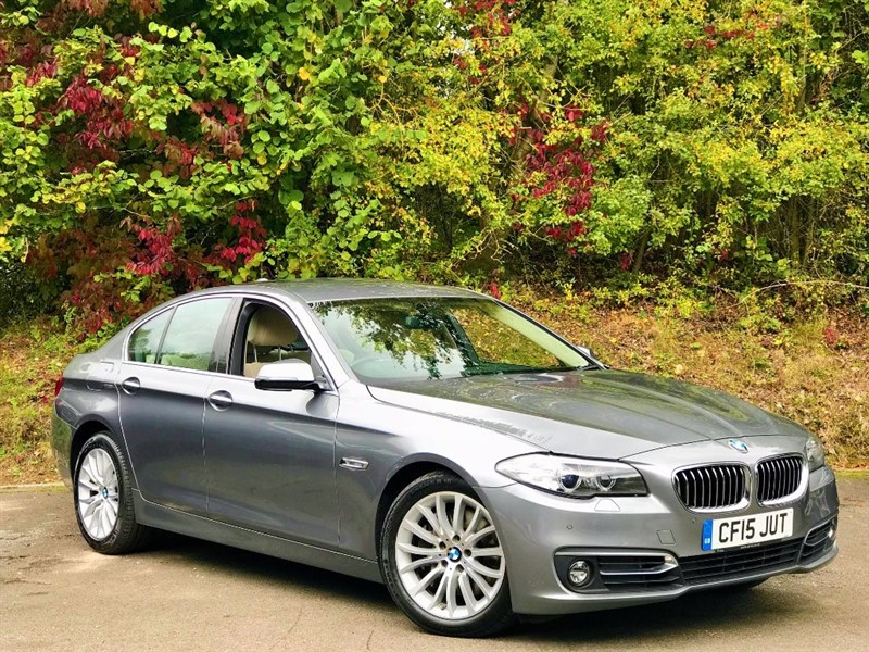 "used BMW 535d LUXURY [SAT NAV / LEATHER / 18""s] in basingstoke-hampshire"