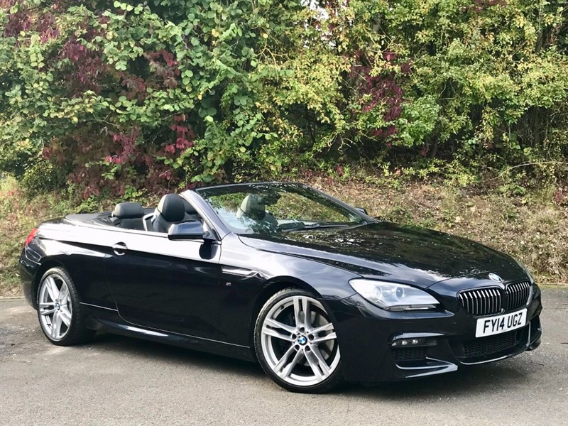 used BMW 640d M SPORT [PRO NAV / STUNNING M-SPORT] in basingstoke-hampshire