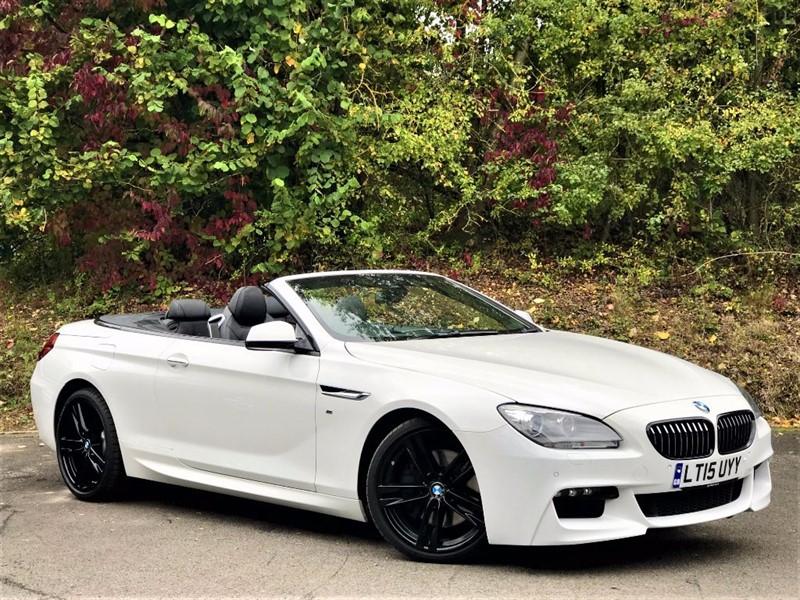 "used BMW 640d M SPORT [PRO NAV / HUD / 20""s] in basingstoke-hampshire"