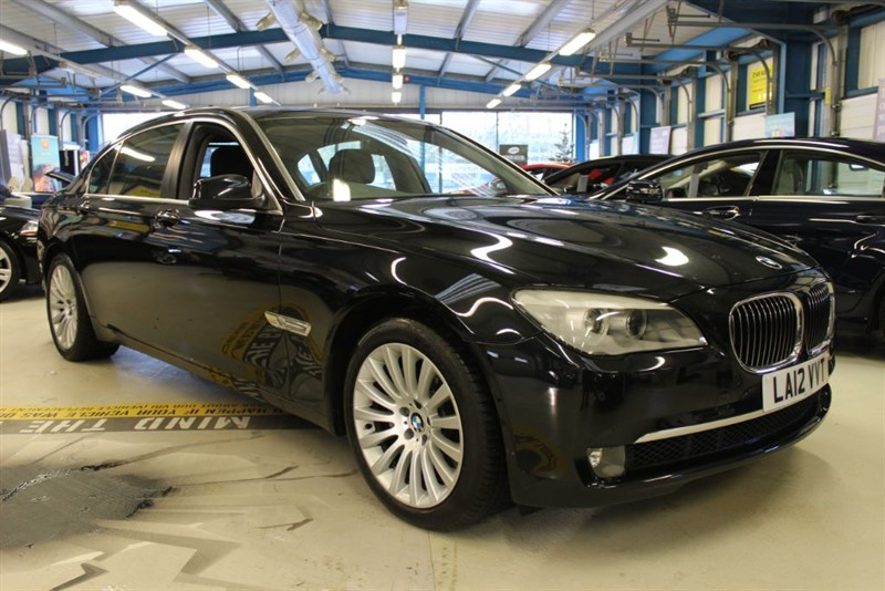 used BMW 740Li LWB [Former Diplomatic Use But Never Left The Country, Not Imported]  in basingstoke-hampshire
