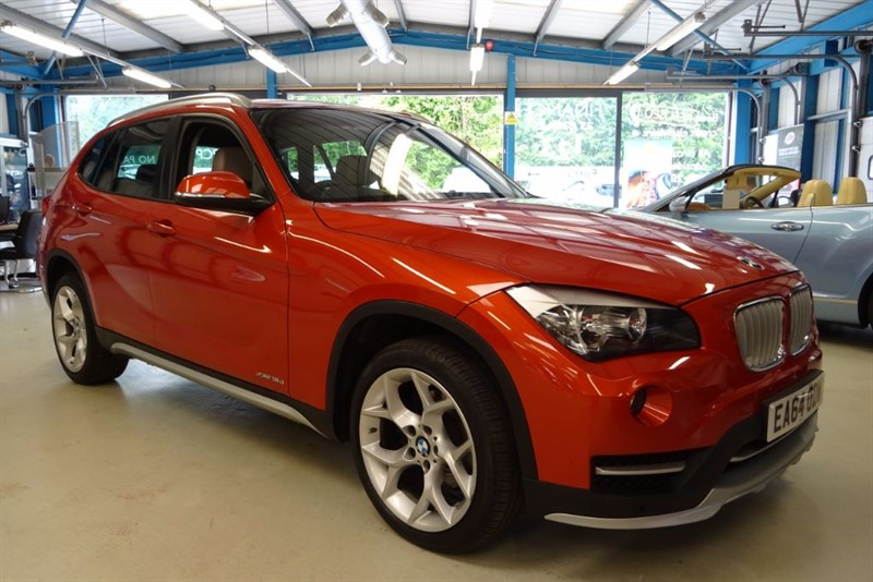 used BMW X1 XDRIVE18D XLINE [FULL CREAM LEATHER] in basingstoke-hampshire