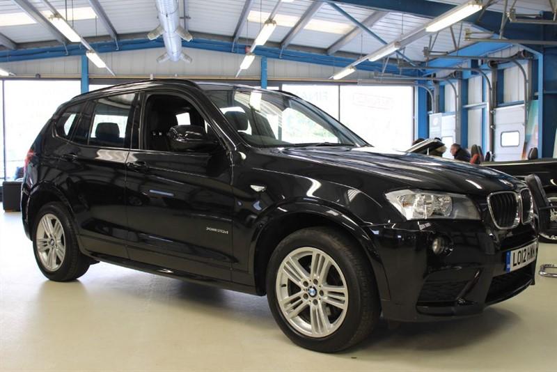 used BMW X3 XDRIVE20D M SPORT [LOW MILES / 1 OWNER / NAV] in basingstoke-hampshire