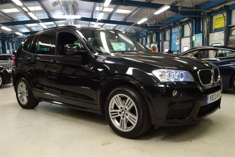used BMW X3 XDRIVE20D M SPORT [SAT NAV / LEATHER] in basingstoke-hampshire