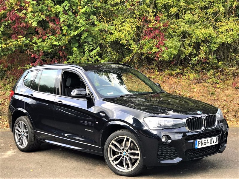 used BMW X3 XDRIVE20D M SPORT [SAT NAV / LEATHER] in basingstoke-hampshire