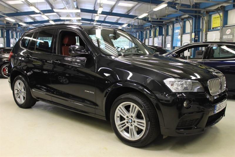 used BMW X3 XDRIVE30D M SPORT [1 OWNER / PRO NAV / CAMERA] in basingstoke-hampshire