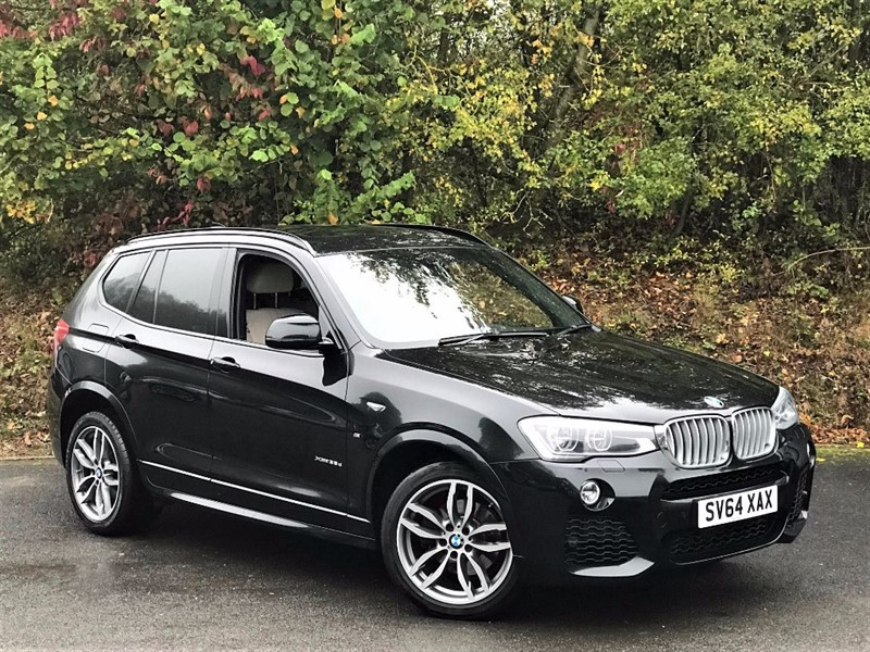 used BMW X3 XDRIVE35D M SPORT [PANORAMIC GLASS ROOF] in basingstoke-hampshire