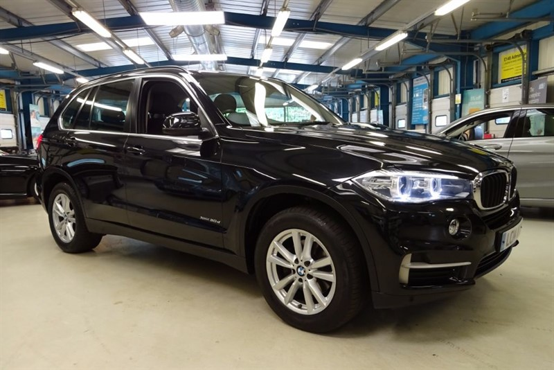 used BMW X5 XDRIVE30D SE [SAT NAV / LEATHER / 1 OWNER] in basingstoke-hampshire