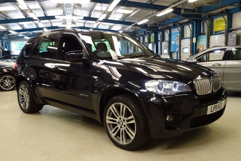 used BMW X5 XDRIVE40D M SPORT [NAV / LEATHER / 1 OWNER] in basingstoke-hampshire