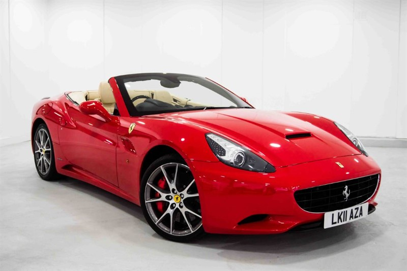 used Ferrari California 2 PLUS 2 [OVER £19000 PF FACTORY OPTIONS] in basingstoke-hampshire
