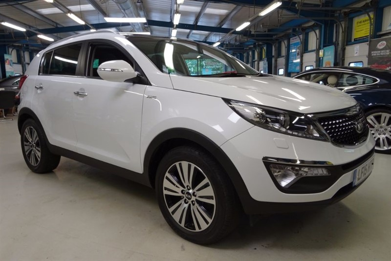 used Kia Sportage CRDI KX-3 [SAT NAV / PANO ROOF / LEATHER] in basingstoke-hampshire