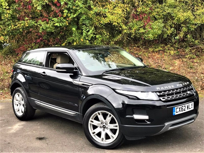 used Land Rover Range Rover Evoque SD4 PURE [FULL LEATHER / 1 OWNER] in basingstoke-hampshire