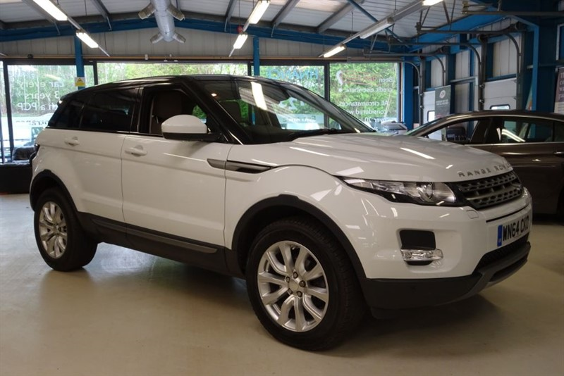 used Land Rover Range Rover Evoque SD4 PURE TECH [1 OWNER / NAV / DAB RADIO] in basingstoke-hampshire