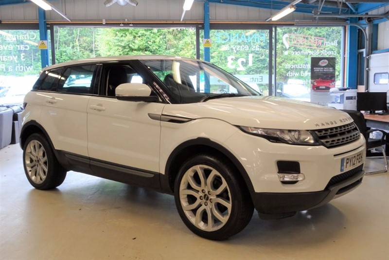 """used Land Rover Range Rover Evoque TD4 PURE [1 OWNER / 4WD / LEATHER / 20""""s] in basingstoke-hampshire"""