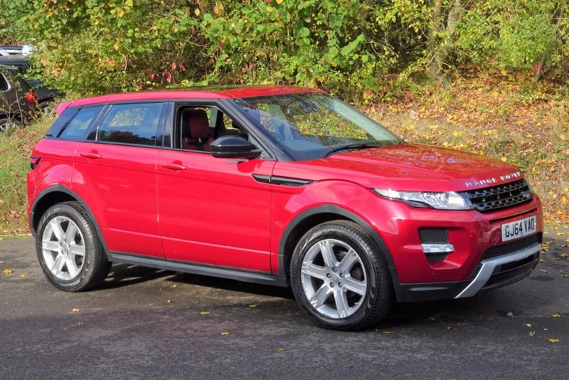 used Land Rover Range Rover Evoque SD4 DYNAMIC [1 OWNER / PANO ROOF / 4WD] in basingstoke-hampshire