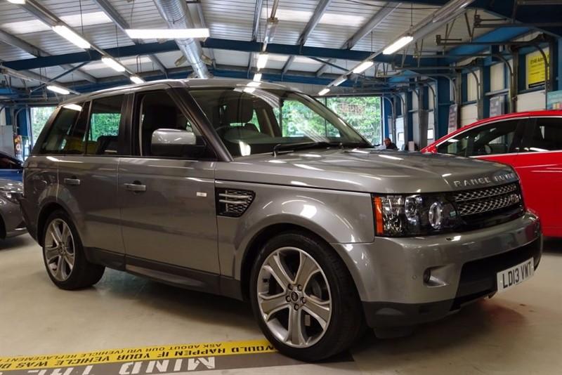 used Land Rover Range Rover Sport SDV6 HSE BLACK [1 OWNER / NAV / LEATHER/ XENON] in basingstoke-hampshire