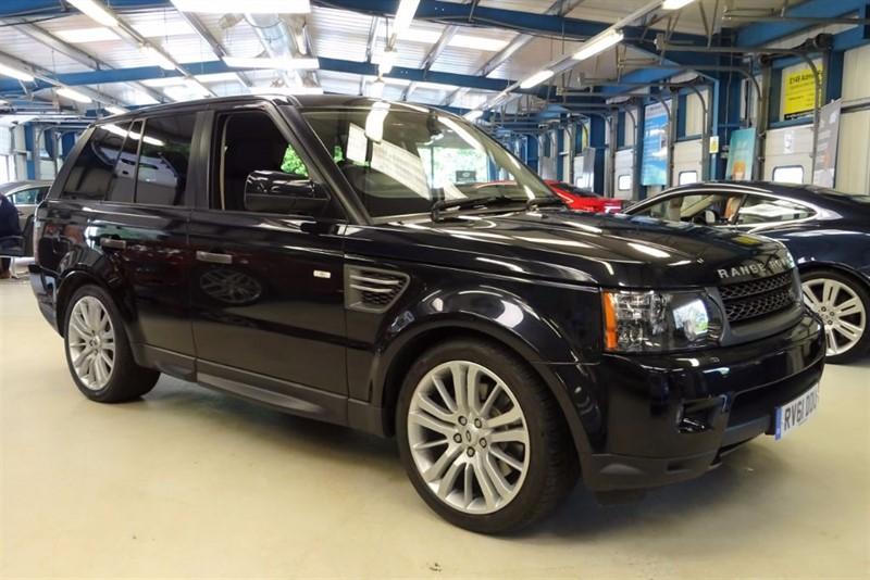 "used Land Rover Range Rover Sport TDV6 HSE [NAV / TV / SUNROOF/XENONS/20""s] in basingstoke-hampshire"