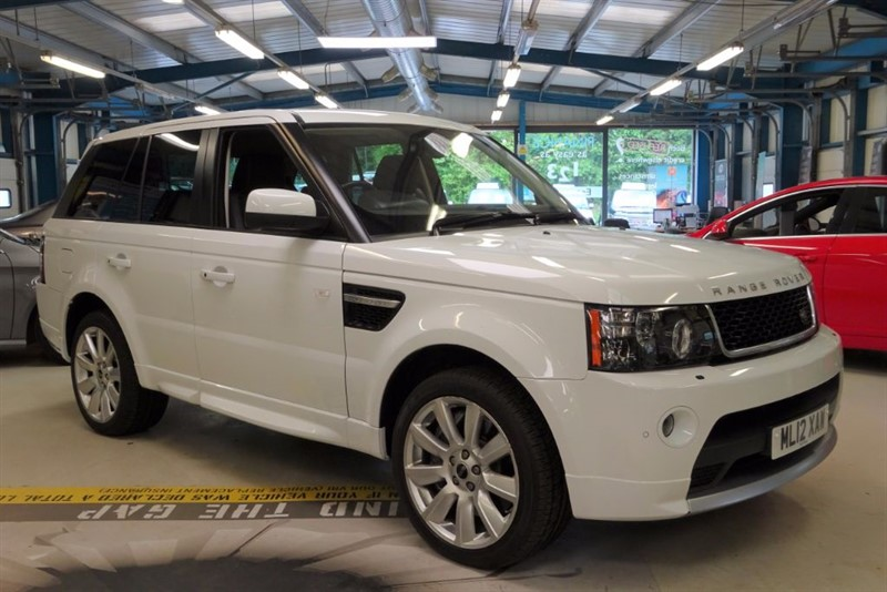 "used Land Rover Range Rover Sport V8 HSE [1 OWNER / NAV / DAB / TV /20""s] in basingstoke-hampshire"