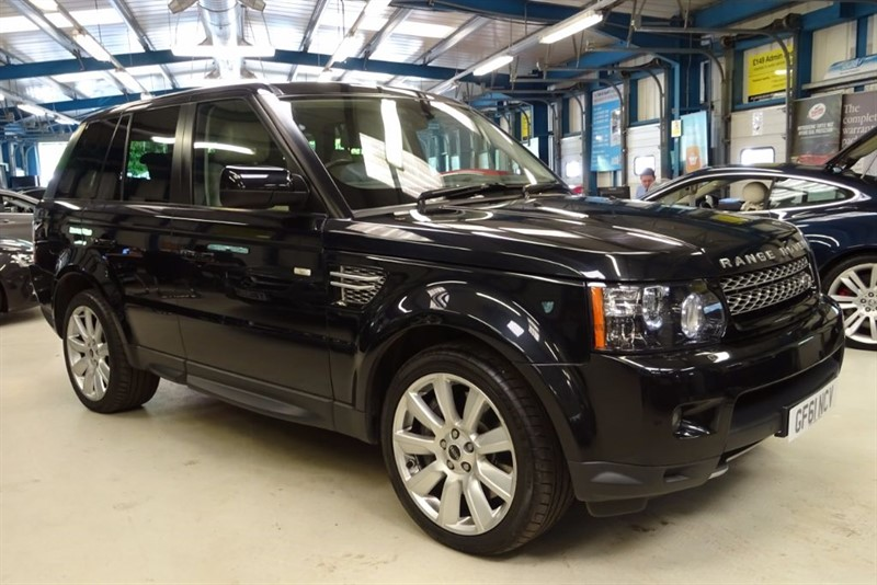used Land Rover Range Rover Sport V8 HSE [SAT NAV / FULL LEATHER] in basingstoke-hampshire