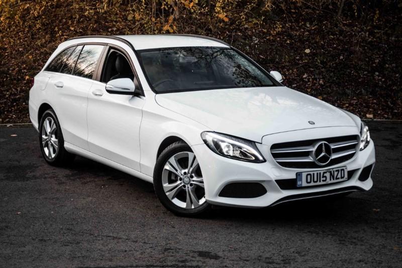 used Mercedes C220 BLUETEC SE [SAT NAV / LEATHER / BEST COLOUR] in basingstoke-hampshire
