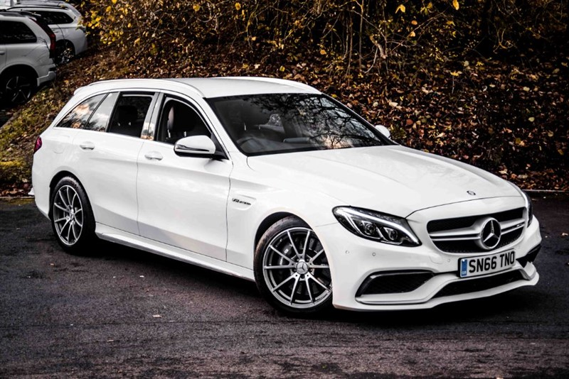 used Mercedes C63 AMG  in basingstoke-hampshire