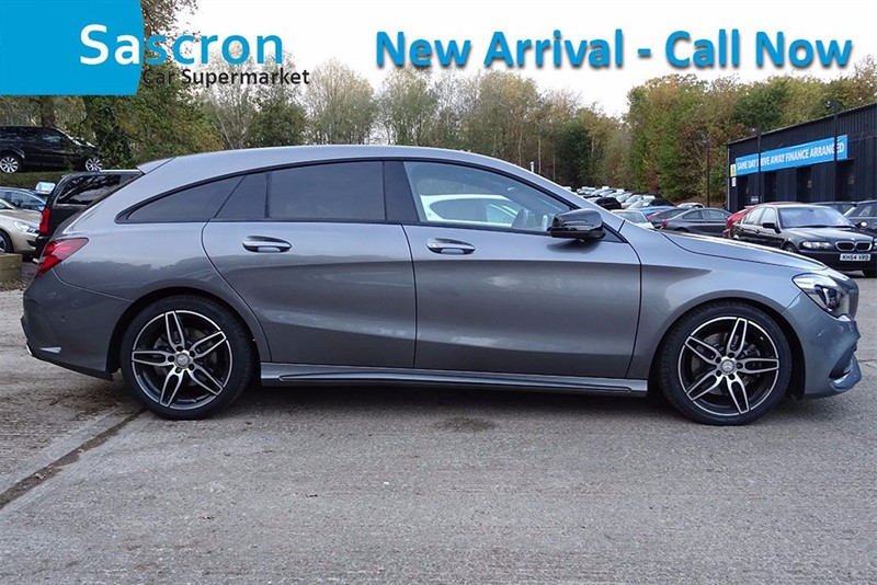 used Mercedes CLA 220 AMG LINE [SAT NAV / LEATHER] in basingstoke-hampshire