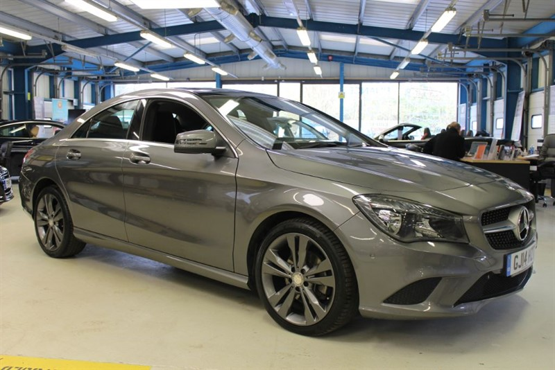 used Mercedes CLA 220 CDI SPORT [NAV / PANO ROOF / PARKTRONIC] in basingstoke-hampshire