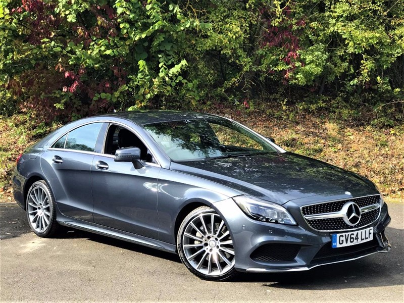 used Mercedes CLK350 CLS350 BLUETEC AMG LINE [NAV / LEATHER / 1 OWNER] in basingstoke-hampshire