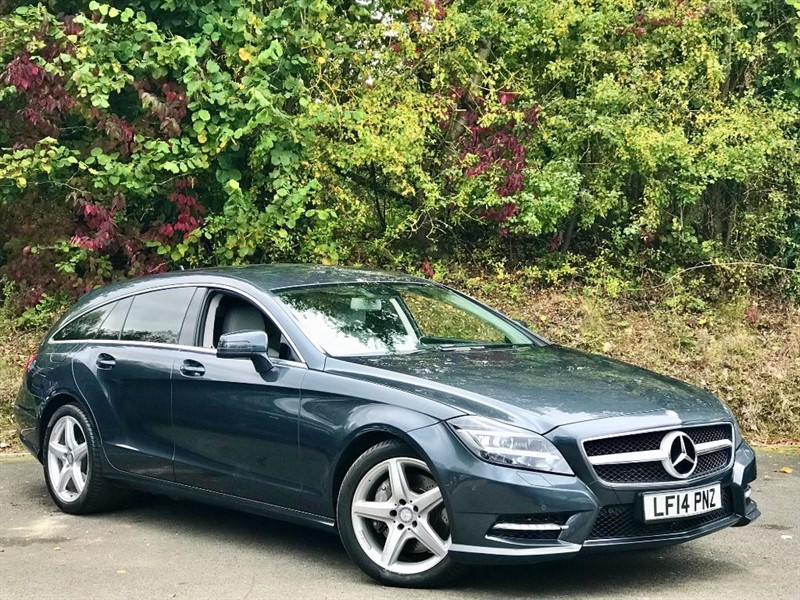 used Mercedes CLS350 CDI BLUEEFFICIENCY AMG SPORT in basingstoke-hampshire